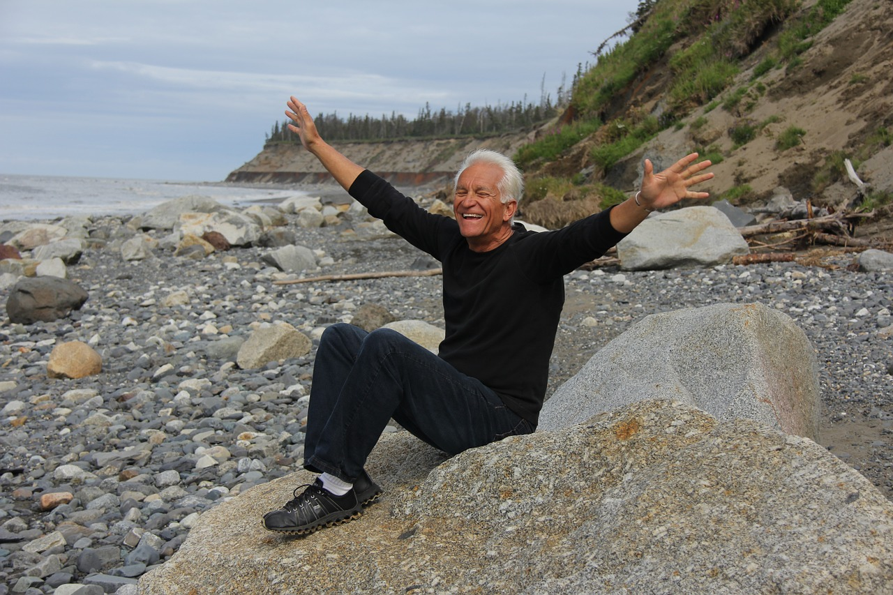 Older person looking happy and healthy showing you can influence your ageing journey