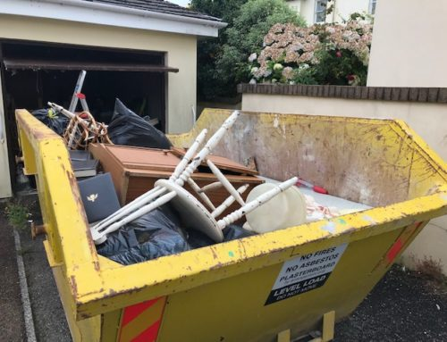 House clearance – out with the old